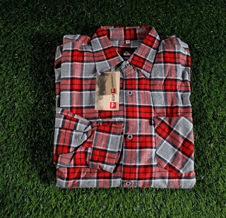 FLANEL DISTRO QUICKSILVER