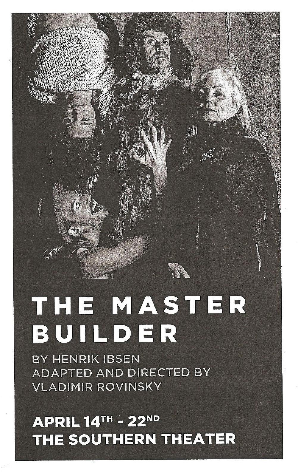the freudian symbols in the master builder by henrik ibsen Hedda gabler and the master builder four major plays ibsen, henrik mcfarlane, james  (freudian psychology  the poem's twin symbols.