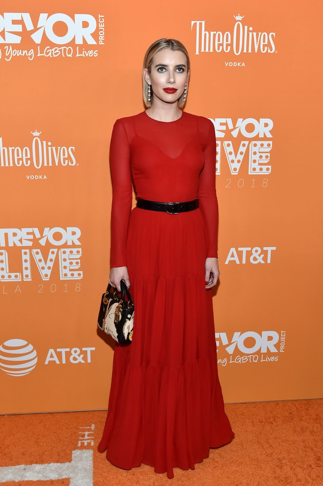 Emma Roberts appear at TrevorLIVE in LA