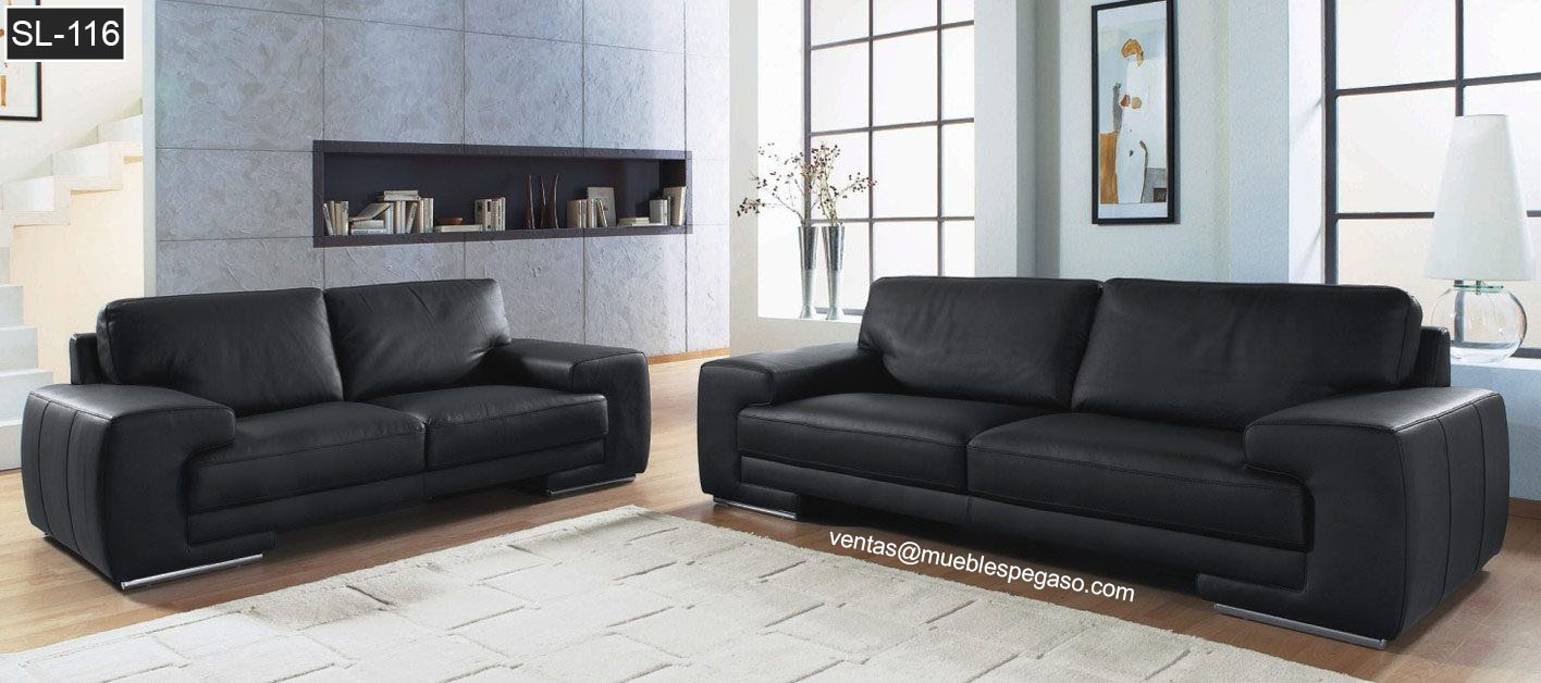 Muebles pegaso salas de cuero comedores dormitorios y for Muebles de sala de cuero