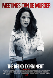 The Belko Experiment Adria Arjona Poster