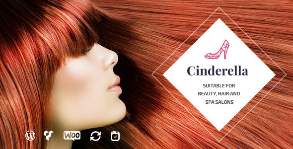 Cinderella v1.5 – Theme for Beauty, Hair and SPA Salons
