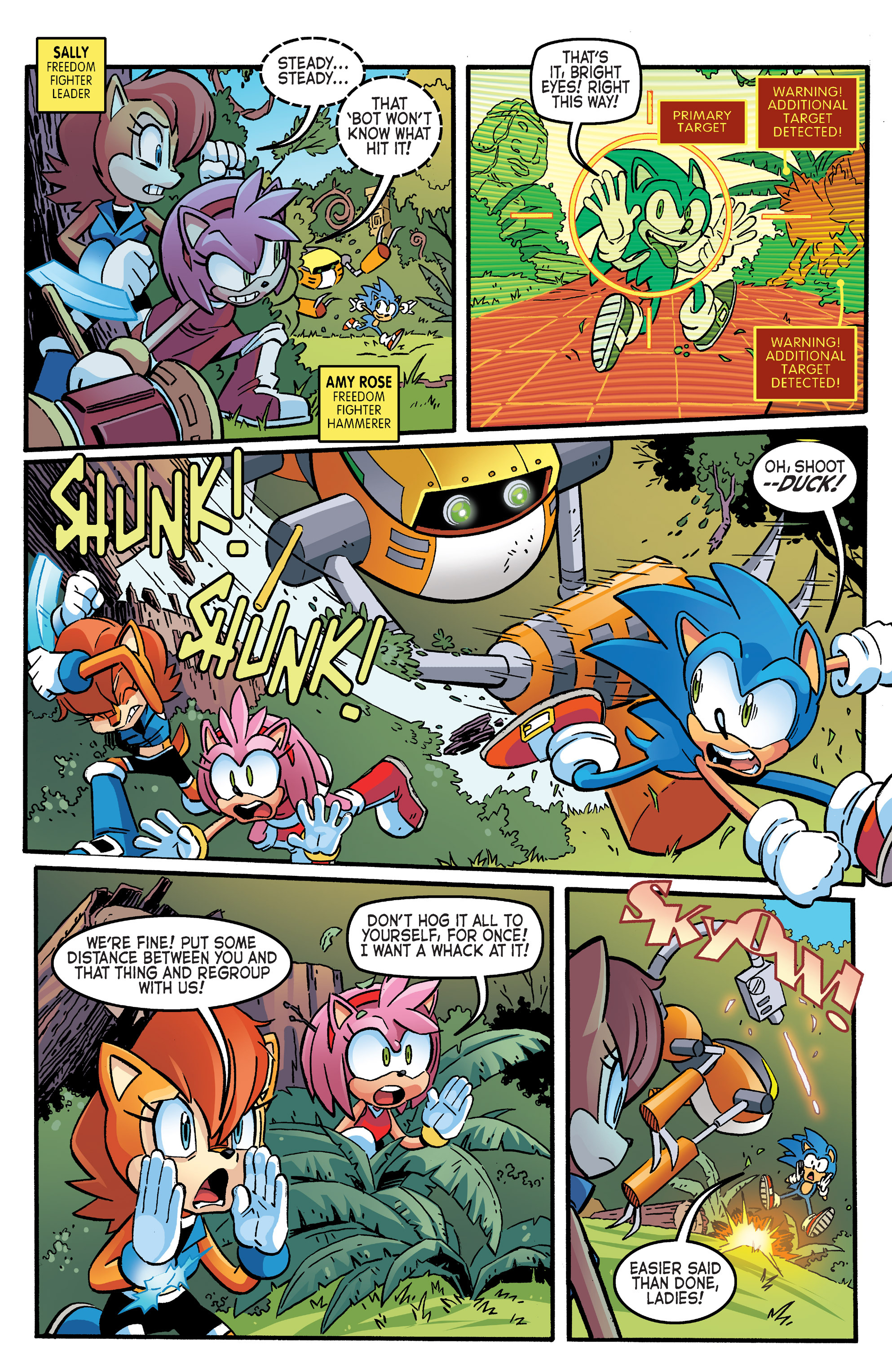 Read online Sonic The Hedgehog comic -  Issue #264 - 4