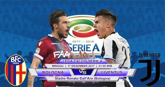 BOLA 365 - Prediksi Bologna vs Juventus 17 Desember 2017