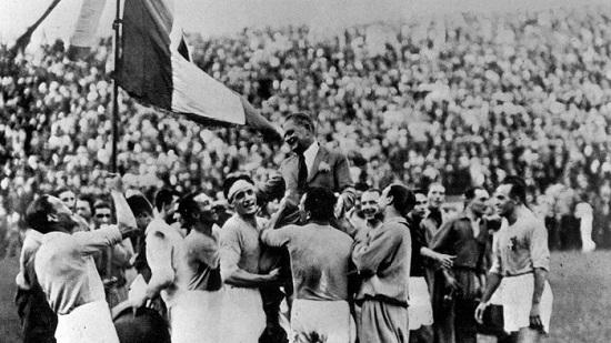 Italia vô địch World Cup 1934 tổ chức tại sân nhà.