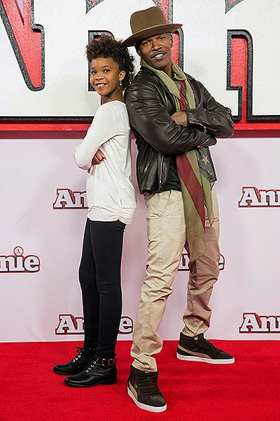 Jamie Foxx and Quvenzhané Wallis