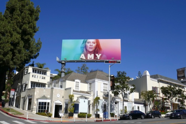 Amy Netflix billboard