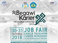 Begawi Karier Universitas Lampung 2018, Kuy Ramaikan!