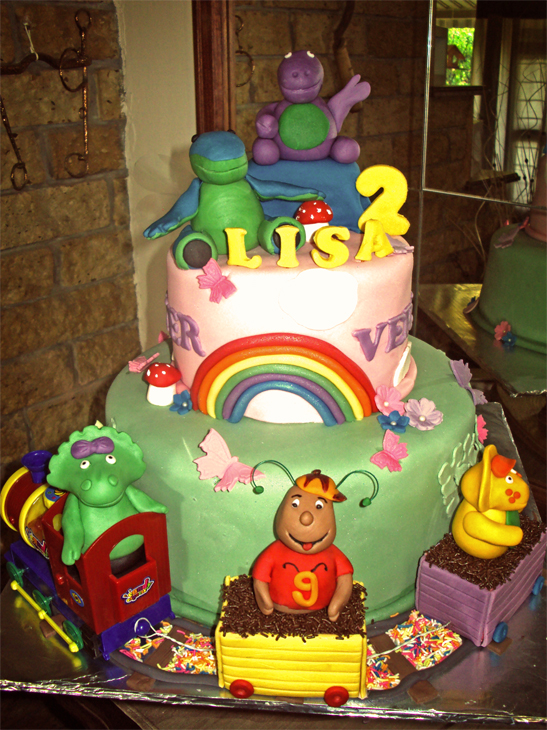 Delana S Cakes Barney And Friends Cake