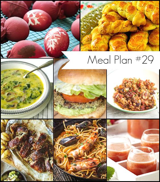 Ioanna's Notebook - Holy Week Meal Plan # 29 - Το μενού της μεγάλης εβδομάδας