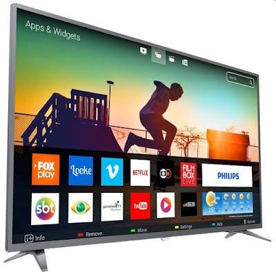 """Foto da Smart TV LED 50"""" Philips 4K 50PUG6513 3 HDMI"""