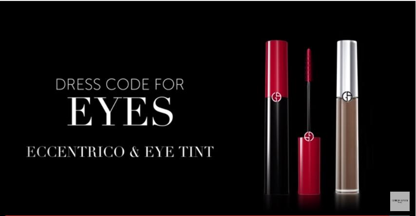 Canzone Pubblicità Giorgio Armani Beauty Dress Code for Eyes - Eccentrico & Eye Tint Luglio2016