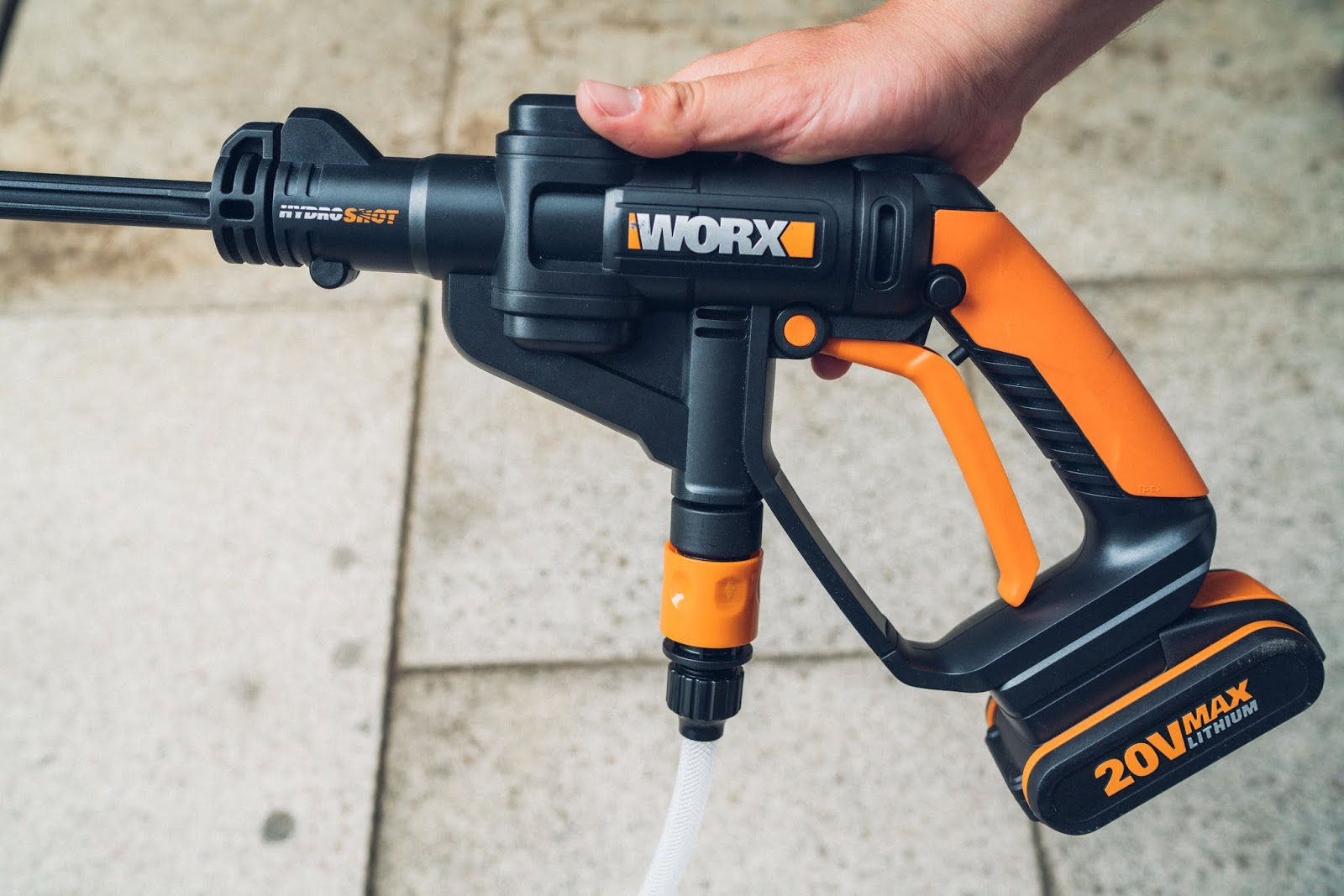 gear of the week #gotw kw 21 | worx wg629e akku hochdruckreiniger