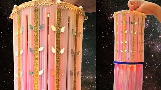 DIY Diwali Decoration Ideas : How to Make Royal DIY Diwali Lantern from Drinking Straws