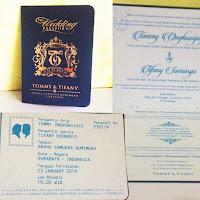 undangan Pasport unik