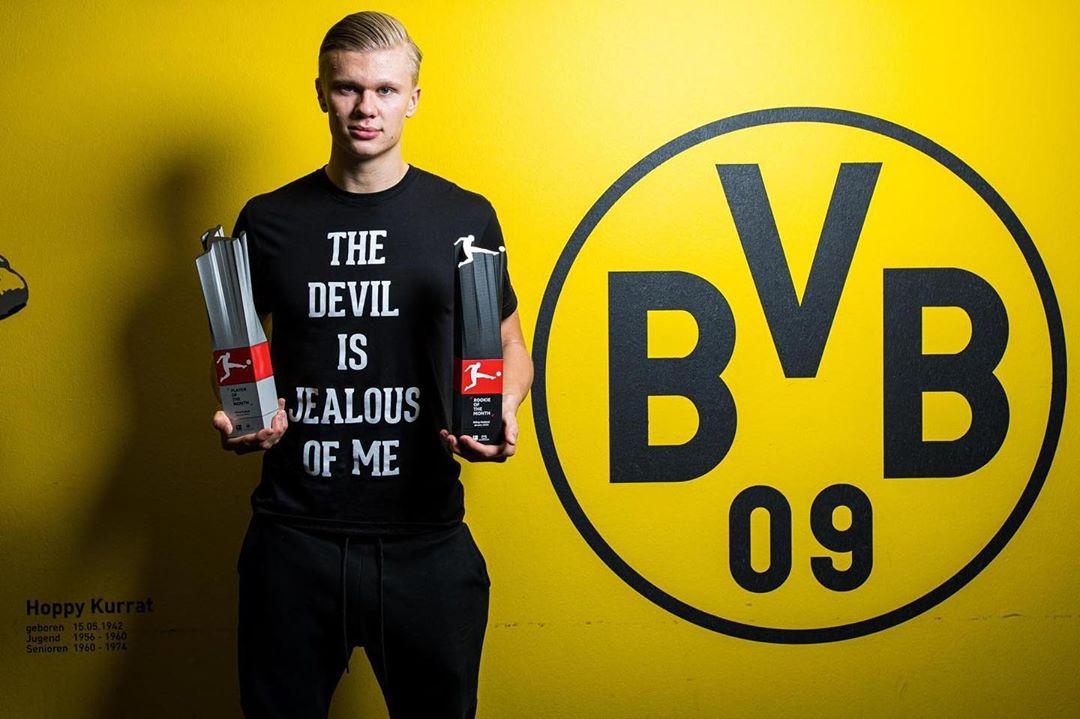 Father explains why Erling Håland signed for Dortmund instead of Man United