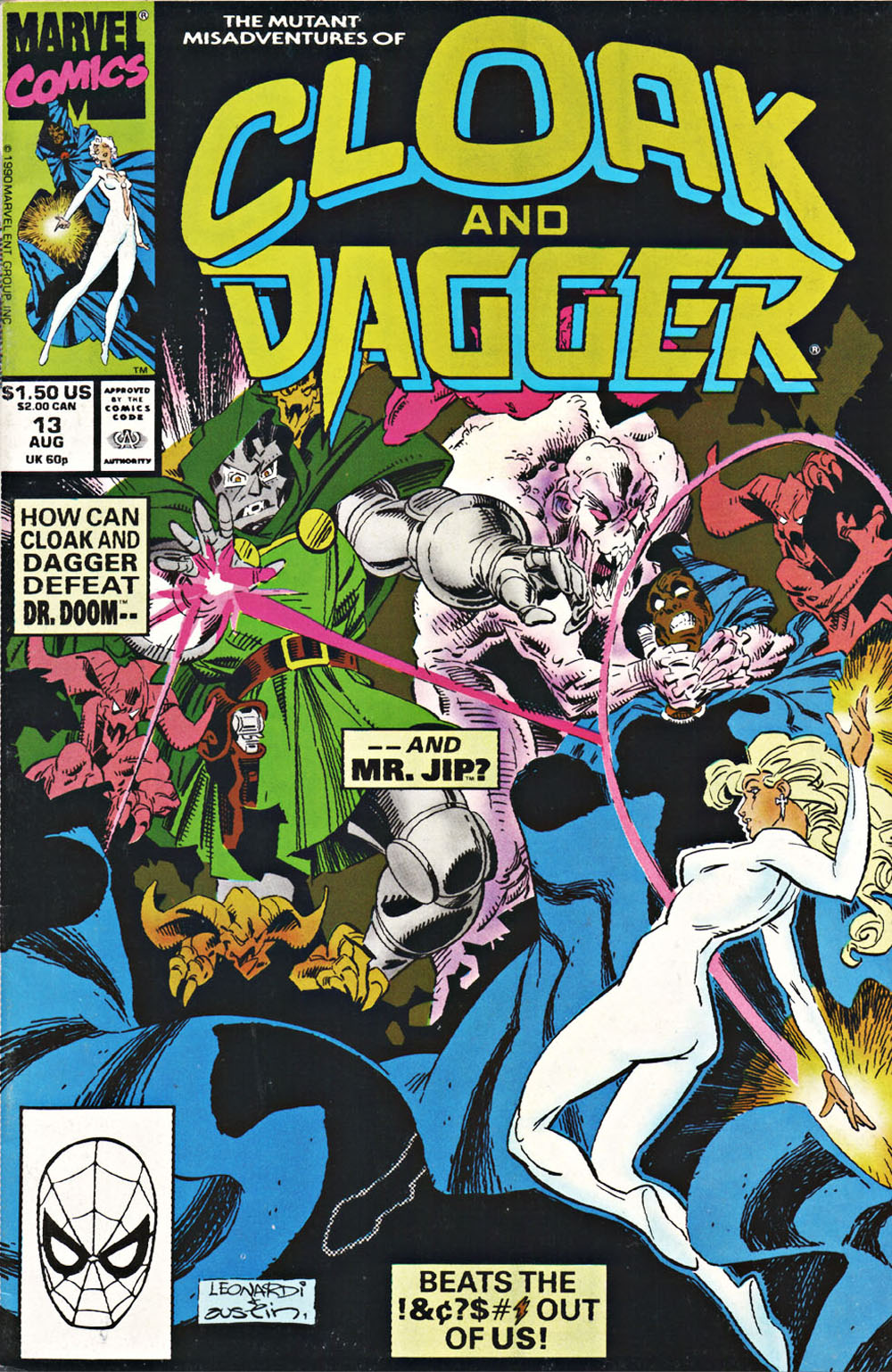 Cloak and Dagger (1990) 13 Page 1