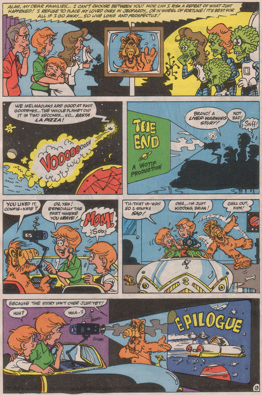Read online ALF comic -  Issue #36 - 19