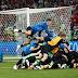 Croácia elimina a Rússia após empates no tempo normal e na prorrogação