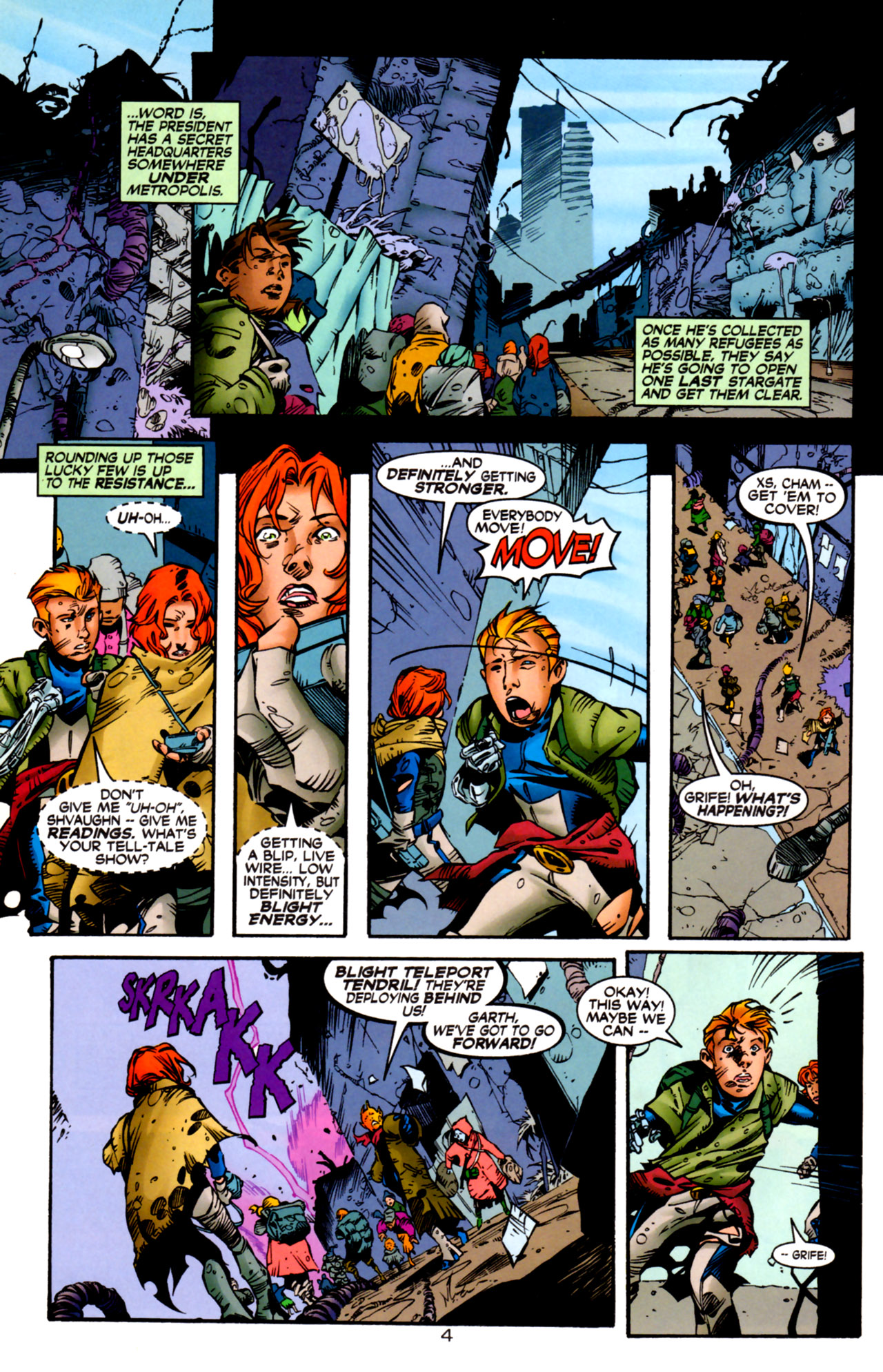 Legion of Super-Heroes (1989) 122 Page 4