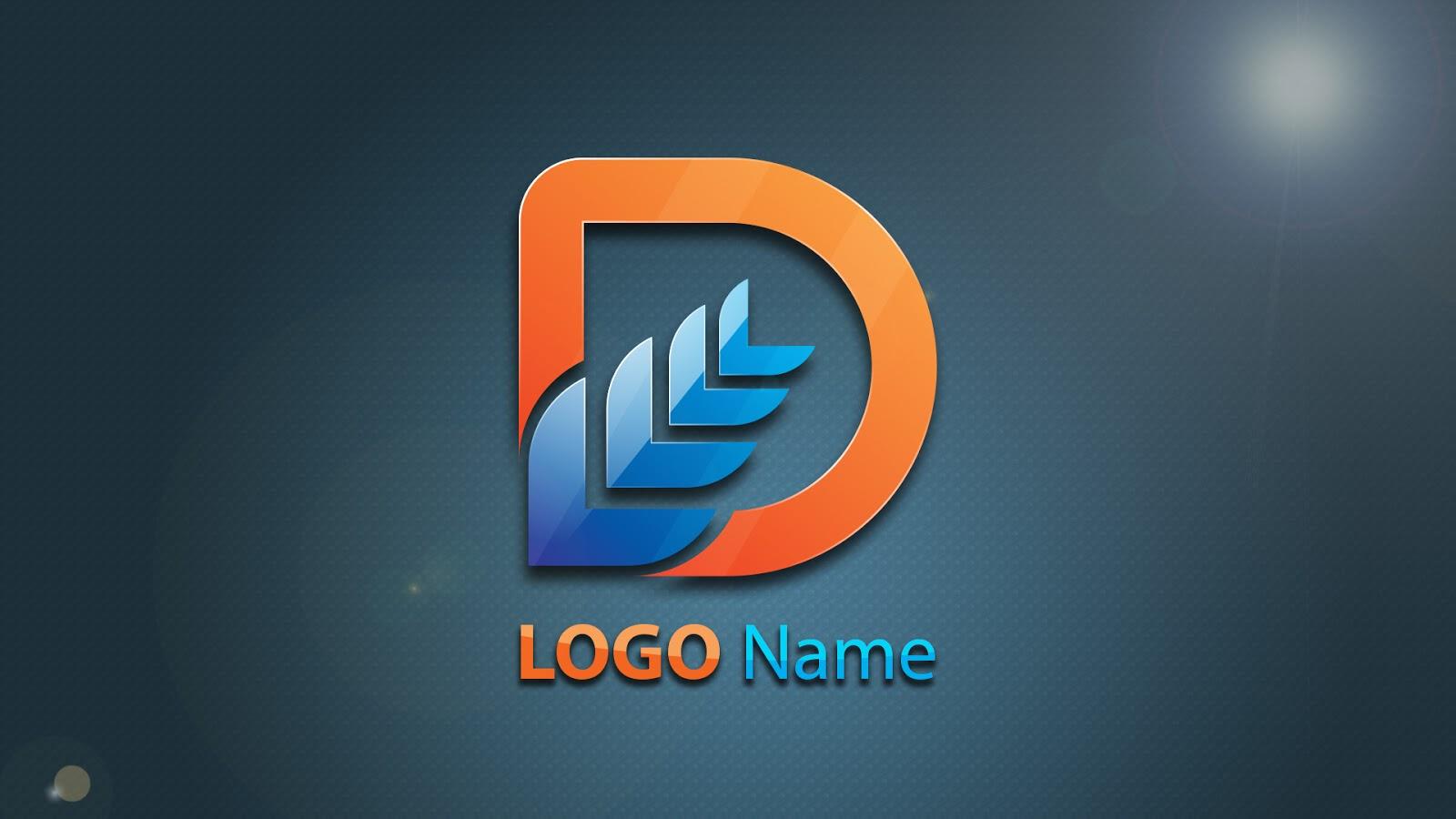 Logo Design In Illustrator | Hindi Urdu Tutorial ( Dee