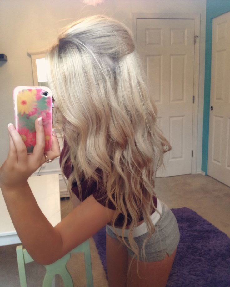 Blondes Hair Style