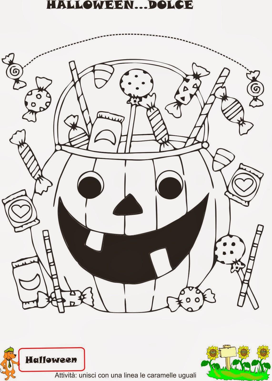 A Scuola Con Poldo Schede Di Halloween