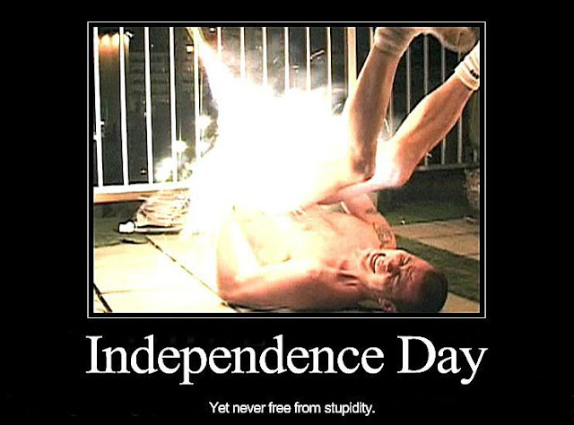 Independence Day Yet never free from stupidity. Idiot pretends to launch a firework from his butt. Snark on the 4th and other stories about Merica. marchmatron.com