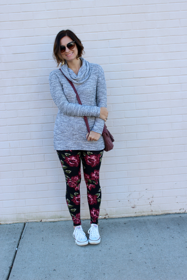 simple addiction, leggings, mom style