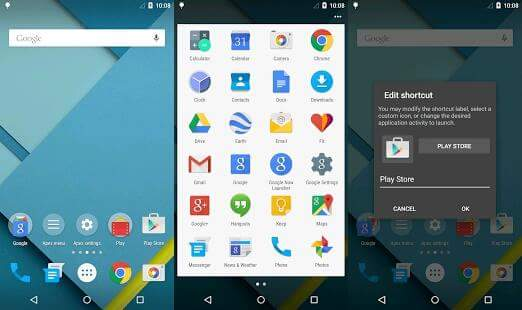 top launchers apps for android