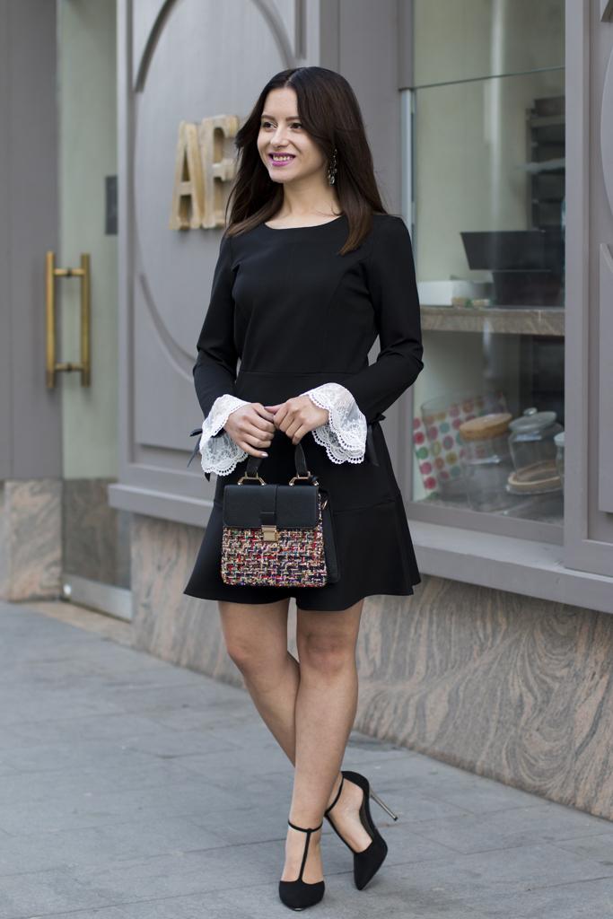 cum sa porti rochia neagra