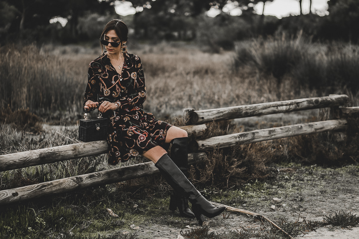 estampado de pañuelo - primavera verano 2019