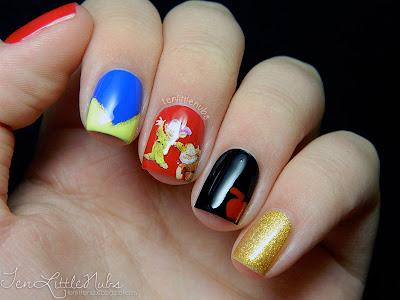 Lissa S Loves Snow White Disney Princess Nail Art Challenge