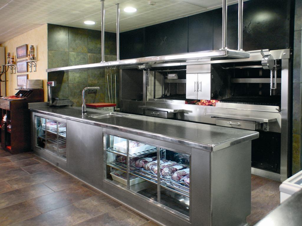 Intecora mobiliario la cocina industrial - Mobiliario cocina industrial ...