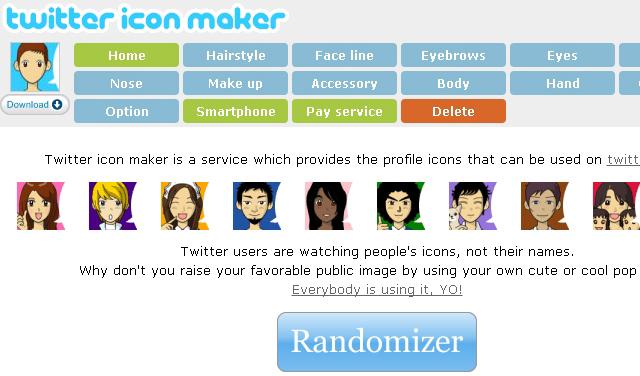 Twitter icon Maker - Solo Nuevas