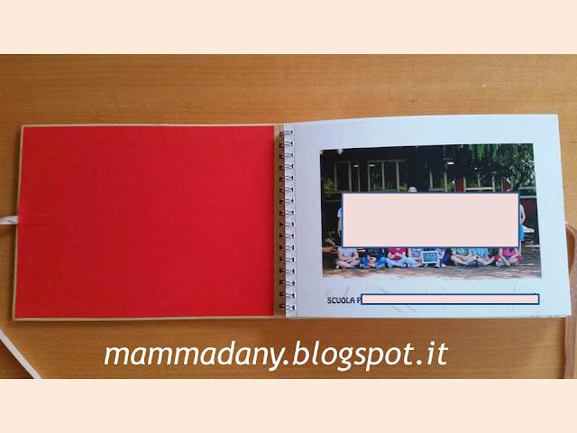 Album dei ricordi per le maestre foto di classe di prima elementare