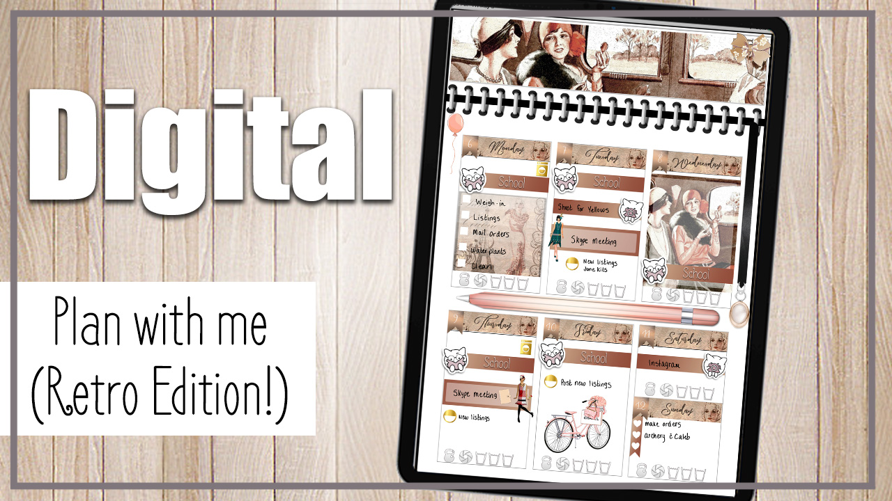 digital planner Leni Digitals how to plan