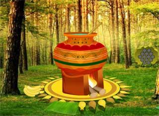 Tamil Festival Pongal Escape - Juegos de Escapar