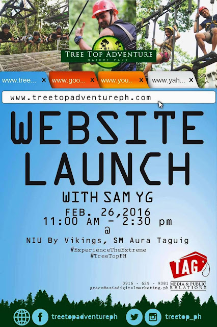 Sam YG for Tree Top Adventure Launching