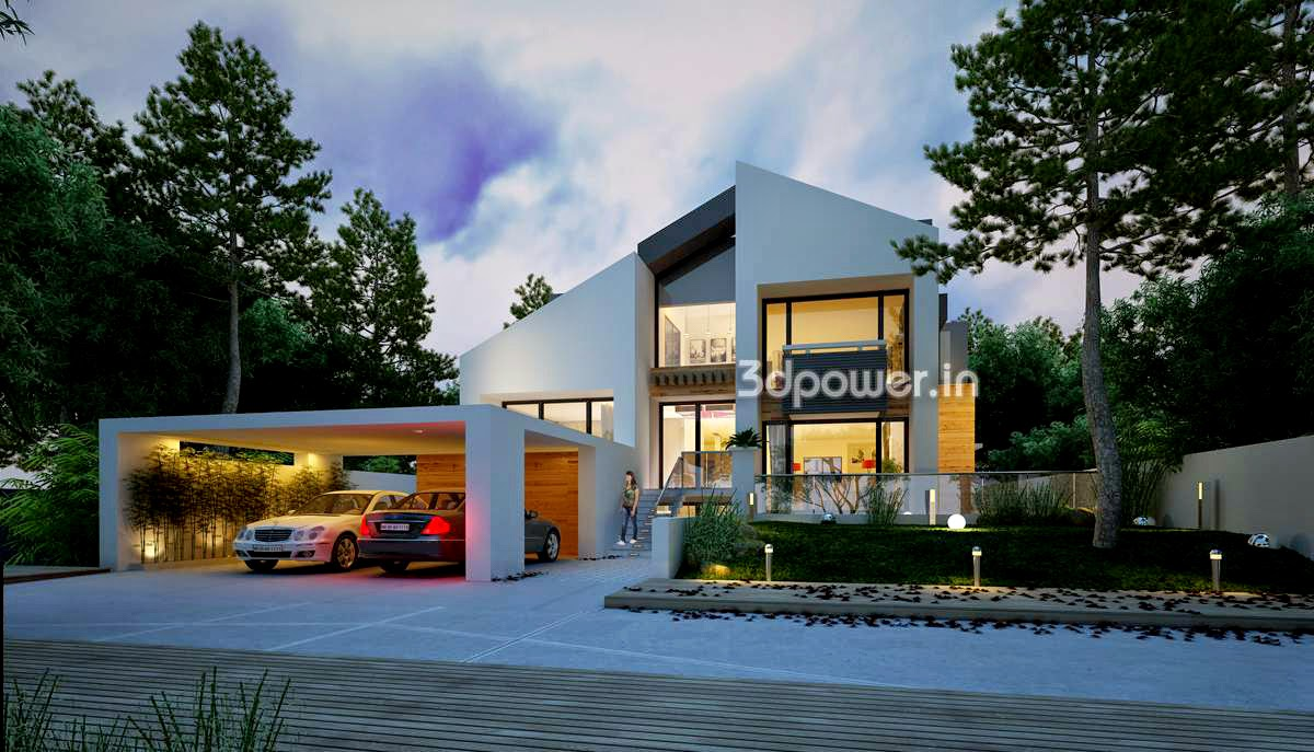 3D Contemporary Bungalow