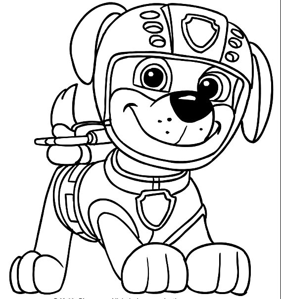 Paw Patrol Coloring Pages Coloring Page