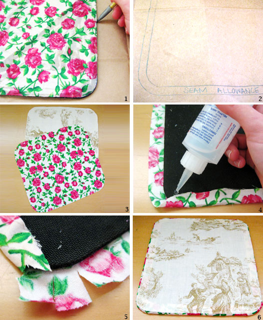 Diy Mouse Pad: Wear The Canvas: DIY Fri: Mouse Pad Makeover