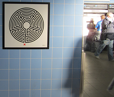 Labyrinth art project