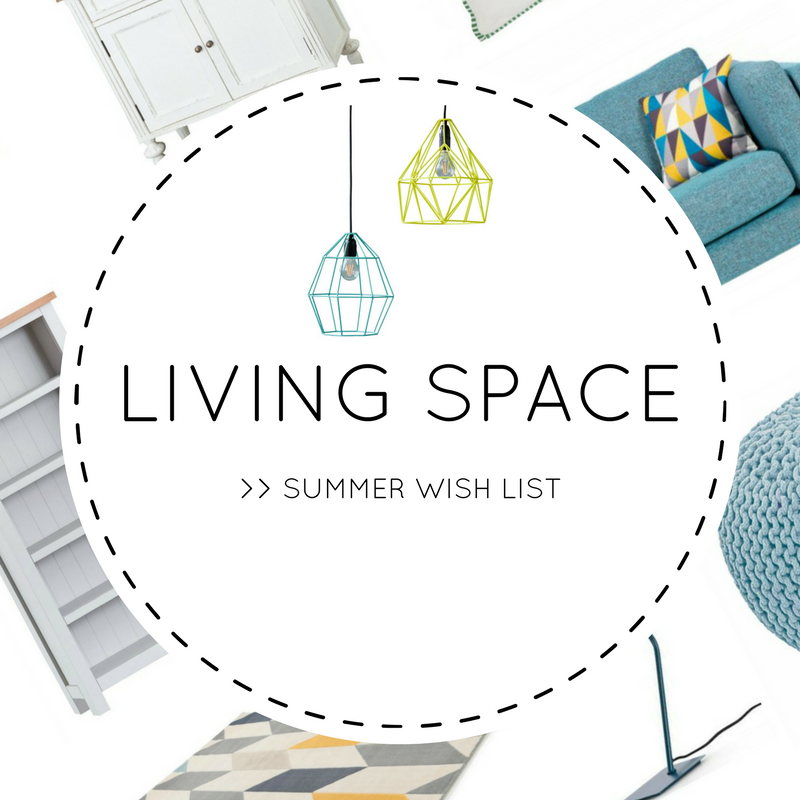 Wafflemama summer home wish list living space for Home wish list