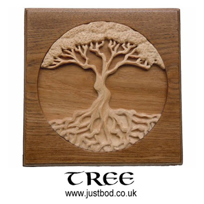 Tree Of Life Wood Carving from Justbod