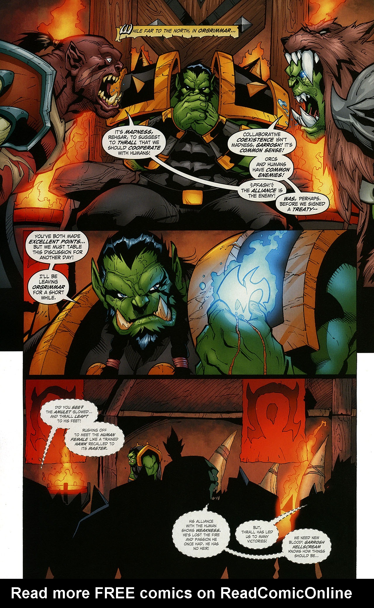Read online World of Warcraft comic -  Issue #15 - 18