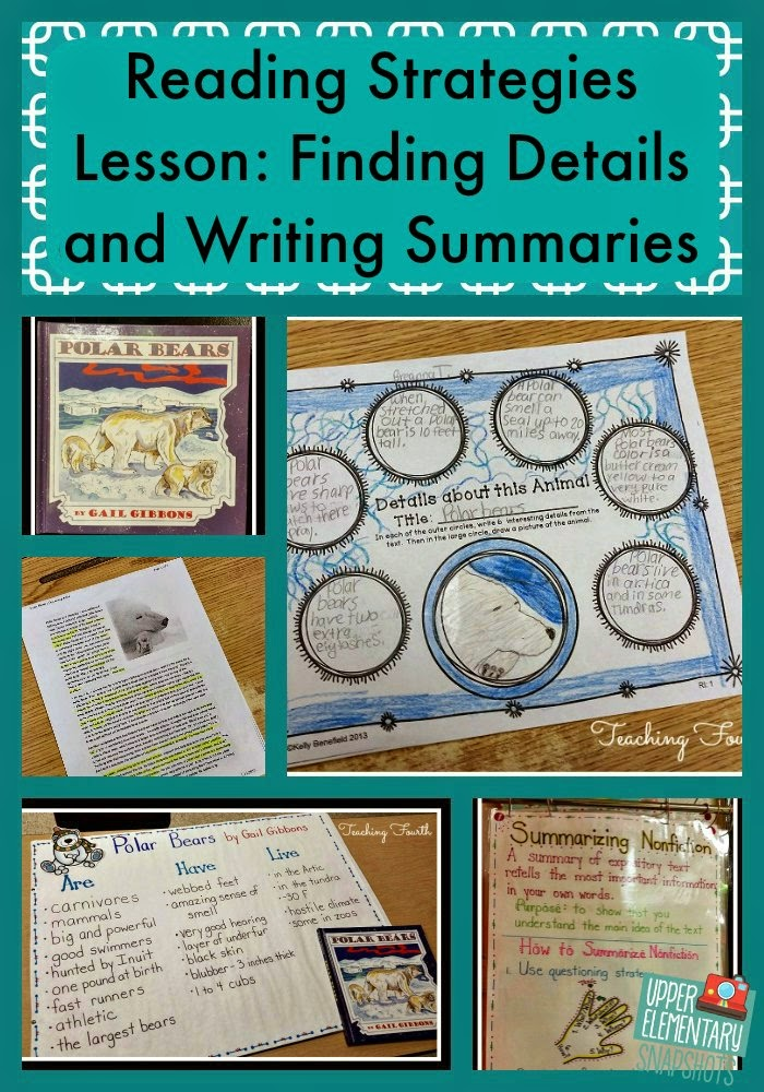 http://www.upperelementarysnapshots.com/2015/02/a-nonfiction-reading-strategies-lesson.html#.VNLlT-ktDIU