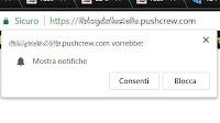 Disattivare le richieste di notifiche dai siti in Chrome, Firefox, Edge e Safari