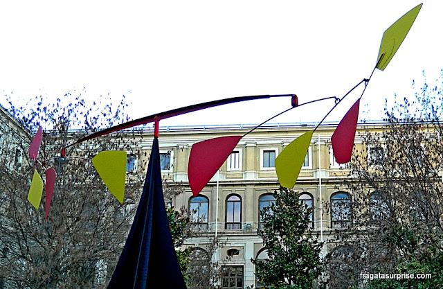Móbile de Alexander Calder no Centro de Artes Reina Sofia