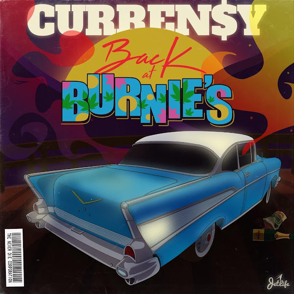 Curren$y - Back at Burnie's Cover